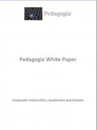 Image for Pedagogia White Paper.  Corporate Universities, Academies and Schools